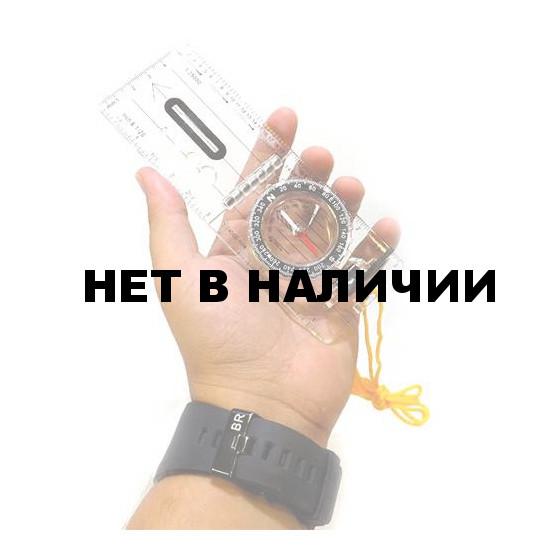 Компас Следопыт планшетный жидкостный с визиром и линейкой