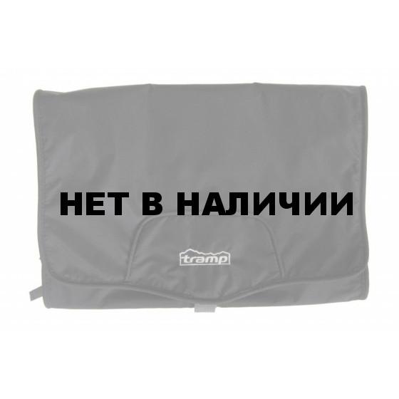 Косметичка Tramp походная, большая, Polyester Ripstop, цвет - черный
