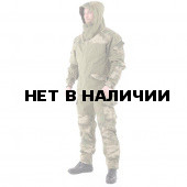 Костюм KE Tactical Горка-3 хаки с накладками A-Tacs FG