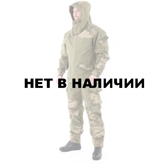 Костюм KE Tactical Горка-3 хаки с накладками мох