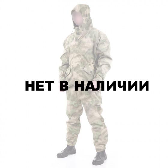 Костюм KE Tactical Горка-3 рип-стоп с накладками из нейлона A-Tacs FG