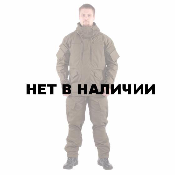 Костюм KE Tactical Горка-5 с налокотниками и наколенниками хаки