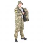 Костюм KE Tactical Горка-5 с жилеткой рип-стоп с налокотниками и наколенниками мох