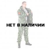 Костюм KE Tactical Горка-5 со съемной флисовой жилеткой рип-стоп с налокотниками и наколенниками березка белая