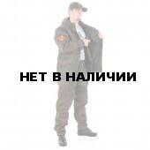 Костюм KE Tactical Горка-5 со съемной флисовой жилеткой рип-стоп с налокотниками и наколенниками ЕМР с накладками олива