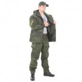 Костюм KE Tactical Горка-5 со съемной флисовой жилеткой рип-стоп с налокотниками и наколенниками ЕМР