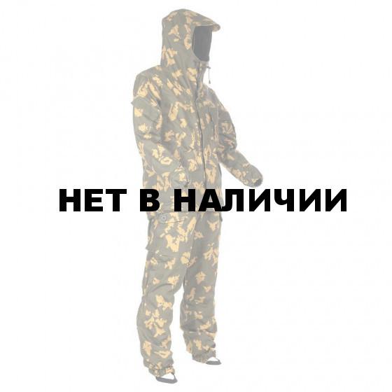 Костюм KE Tactical Горка рип-стоп на флисе березка желтая