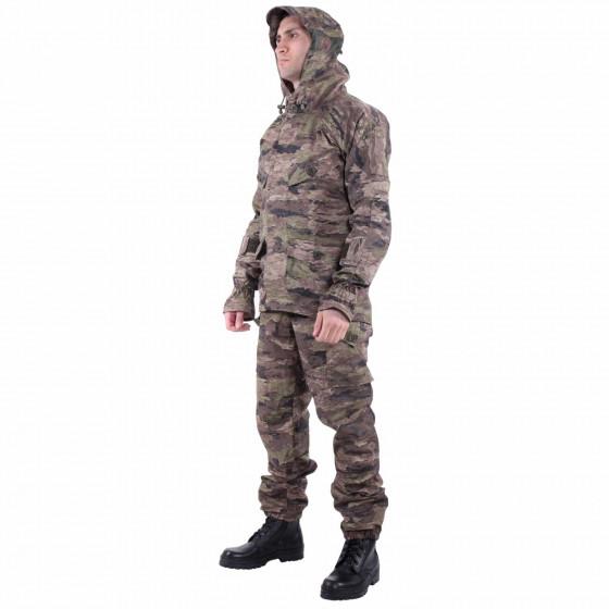Костюм KE Tactical Снайпер-2 рип-стоп с налокотниками и наколенниками тигр