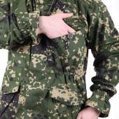 Костюм KE Tactical Снайпер-2 рип-стоп с налокотниками и наколенниками сфера