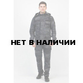 Костюм Triton Keeper 100% хлопок серый/черный