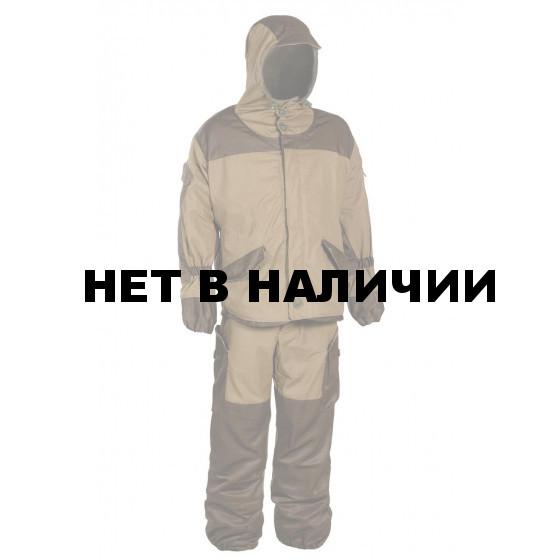 Костюм детский Горка-V Huntsman демисезонный, цвет хаки с накладками олива