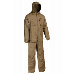 Костюм Егерь Huntsman, ткань палаточная, 100% х/б, цвет – хаки