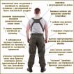 Костюм KE Tactical Горка-4 анорак рип-стоп черная