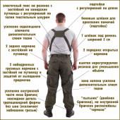 Костюм Горка-4 анорак рип-стоп черная