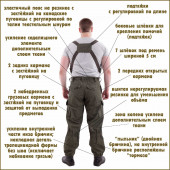 Костюм Горка-4 анорак рип-стоп flecktarn