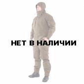 Костюм KE Tactical Горка-5 со съемной флисовой жилеткой рип-стоп с налокотниками и наколенниками хаки