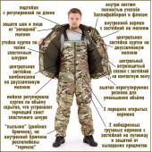 Костюм Горка-Зима облегченный мембрана MU-Blur