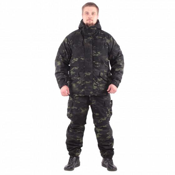 Костюм KE Tactical Горка-Зима облегченный мембрана multicam black
