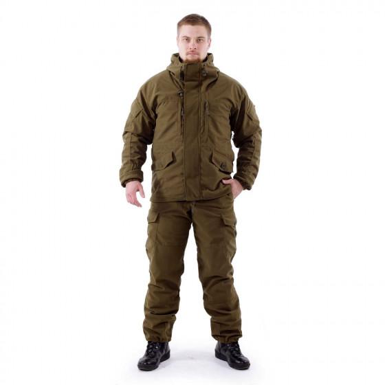 Костюм KE Tactical Горка Active мембрана на флисе олива