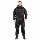 Костюм KE Tactical Горка мембрана на флисе multicam black