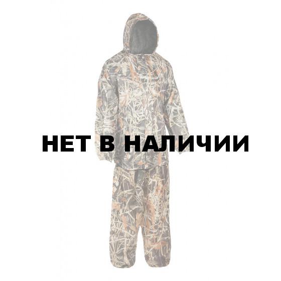 Костюм Склон-2 Huntsman, влагозащитный, таффета рип-стоп, цвет – Камыш