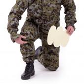 Костюм Снайпер-2 анорак рип-стоп с налокотниками и наколенниками mandrake