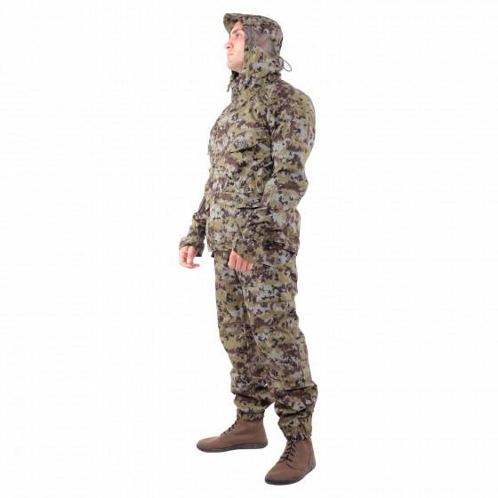 Костюм KE Tactical Снайпер-2 рип-стоп с налокотниками и наколенниками пограничная цифра