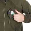 Куртка Helikon-Tex Alpha Tactical флисовая foliage green
