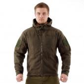 Куртка флисовая Huntsman Камелот олива (хаки)