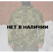 Куртка Гарсинг ГРУ рип-стоп с накладками из нейлона без подкладки Camo A-FG X