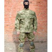 Куртка Гарсинг КСПН рип-стоп с клапанами вентиляции и со съемной защитой для локтей Camo A-FG X