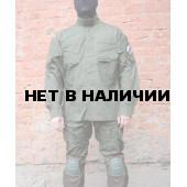 Куртка Гарсинг КСПН рип-стоп с клапанами вентиляции и со съемной защитой для локтей Oliva X