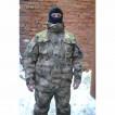 Куртка Гарсинг Панцирь мембранная, с клапанами вентиляции + куртка-подкладка из высоковорсового флиса Camo A-FG X