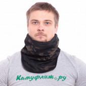 Морской шарф Keotica мембрана на флисе multicam black