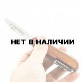 Мультитул Следопыт 11 предметов деревянная ручка