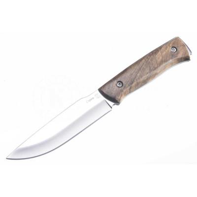 Нож ПП Кизляр разделочный Стриж AUS-8 полированный с фиксированным клинком