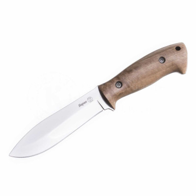 Нож ПП Кизляр разделочный Варан AUS-8 полированный с фиксированным клинком