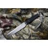 Нож Kizlyar Supreme Alpha AUS-8 Satin Stonewash с фиксированным клинком