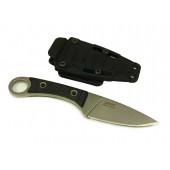 Нож ПП Кизляр разделочный Крот AUS-8 полированный с фиксированным клинком