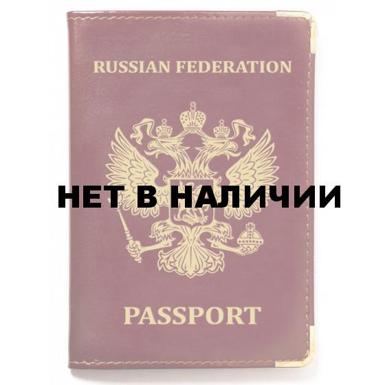 Обложка VoenPro для паспорта с тиснением герба РФ