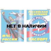 Обложка VoenPro на паспорт МЧС Супермен