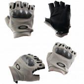 Перчатки VoenPro тактические без пальцев серые