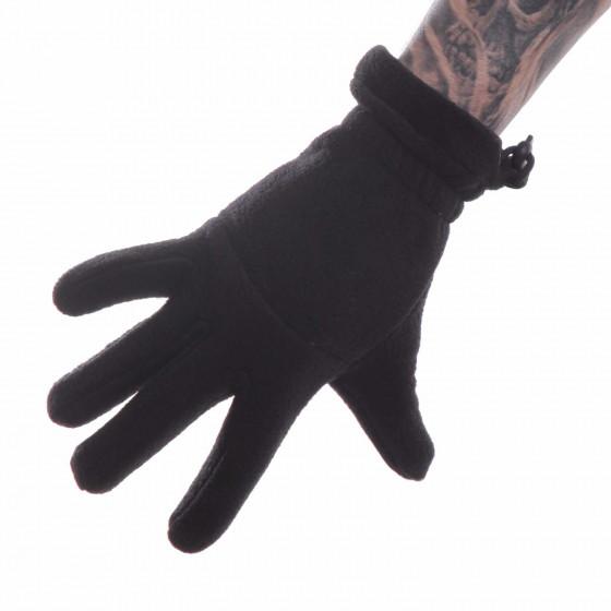 Перчатки Keotica флисовые черные