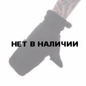 Перчатки-варежки Keotica флисовые черные