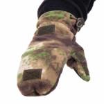 Перчатки-варежки Keotica флисовые мох