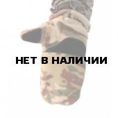 Перчатки-варежки Keotica флисовые multicam