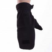 Перчатки-варежки Keotica Softshell черные