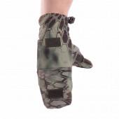 Перчатки-варежки Keotica Softshell mandrake