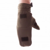 Перчатки-варежки Keotica Softshell олива