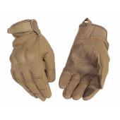 Перчатки VoenPro тактические со скрытой защитой coyote